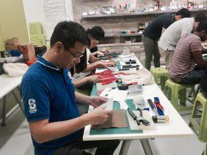 leather crafting workshop