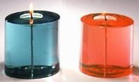 Mineral oil candles