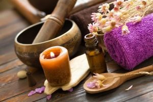 Scents and stress relief