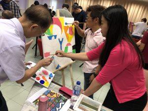 Corporate Art Jamming Singapore