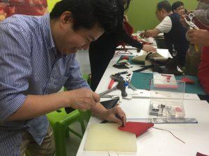 leather crafting workshop Photo Essay: Leather Workshops at EPIC October 2021