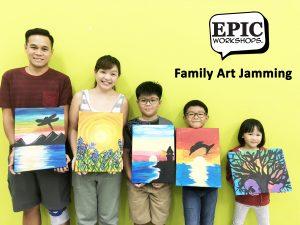 Art Jamming Workshop in Singapore