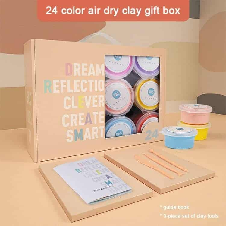 Art Experience Kit: Clay Figurine Making (24pcs) October 2021