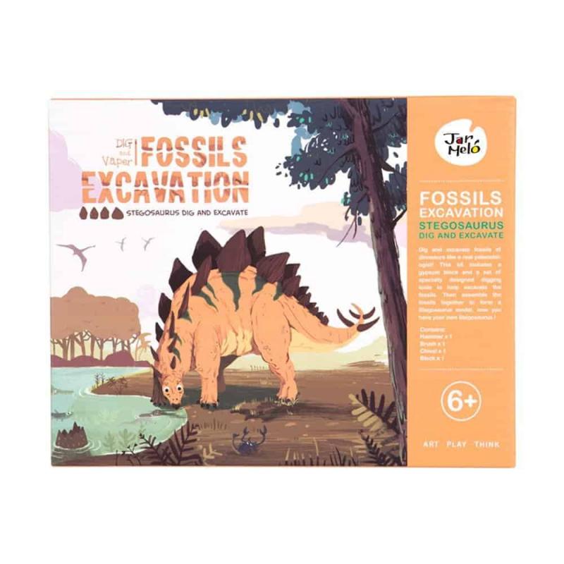 Art Experience Kit: Fossils Excavation - Stegosaurus October 2021