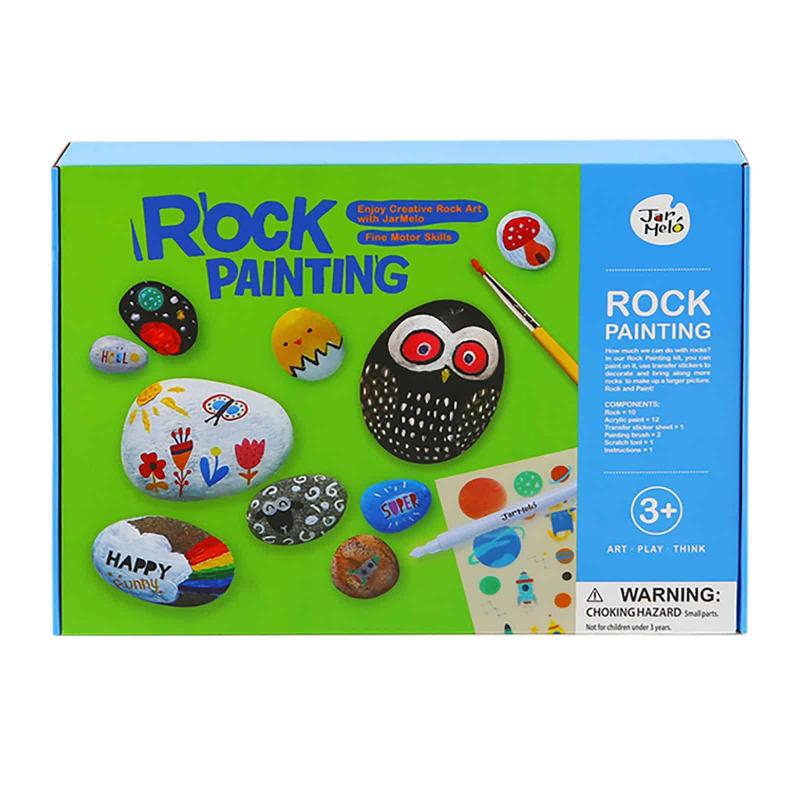 Art Experience Kit: Rock Painting October 2021