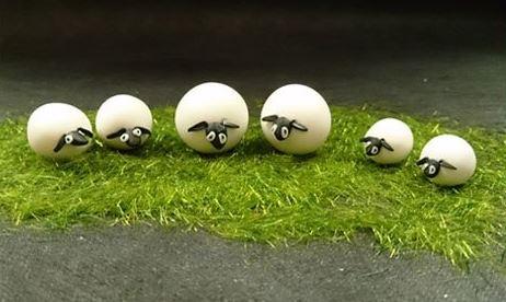 terrarium figurines Round Sheep Figurine October 2021