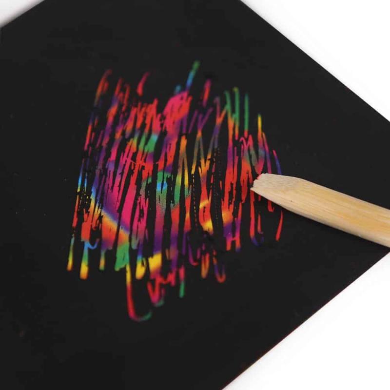 Art Experience Kit: Magic Scratch Art (130pcs) October 2021