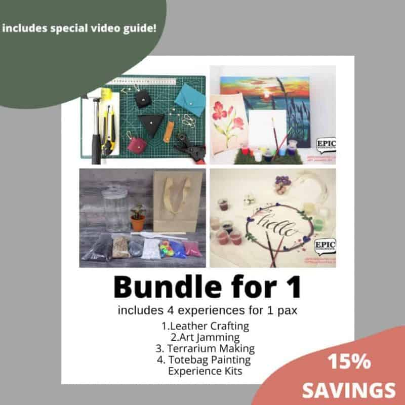 Bundle For 1: Stay Home Experience Kits (IMDA) October 2021