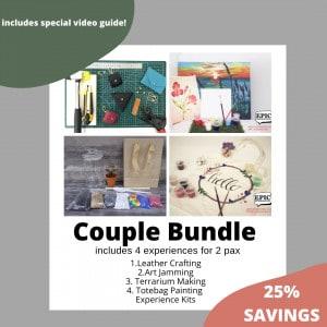 Couple Bundle : Stay Home Experience Kits (IMDA) October 2021