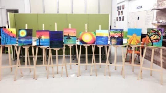 Art Jamming Workshops in Singapore October 2021